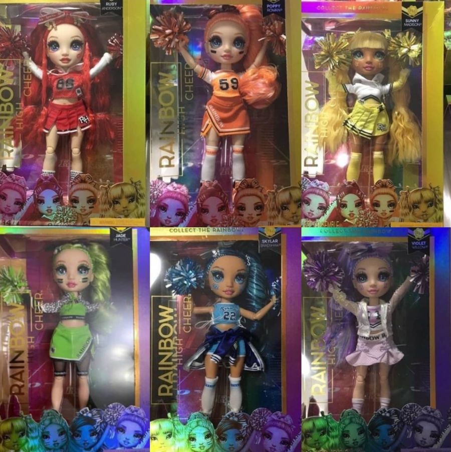 Rainbow High Cheerleader Dolls