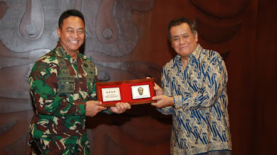 Kasad dan Rektor UI Jalin  Kerjasama