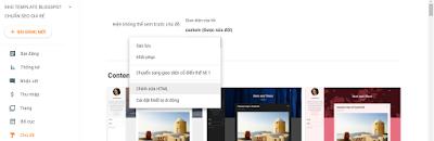 Hướng Dẫn Cài Đặt Template Blogspot