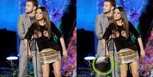 Justin Timberlake dan Mila Kunis