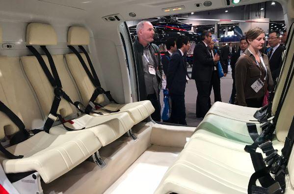 AgustaWestland AW109 Trekker interior