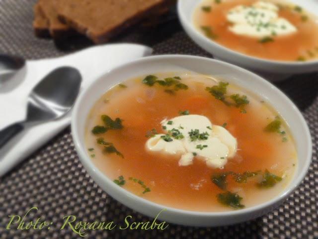 Supa de legume cu smantana