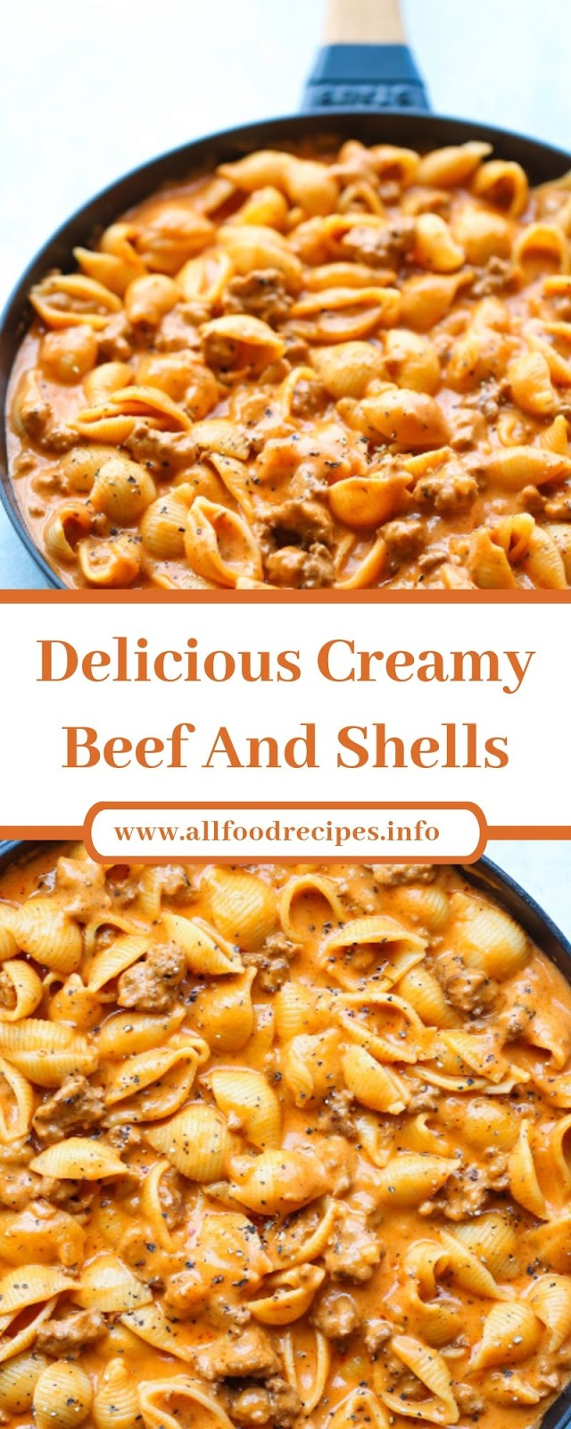 Delicious Creamy Beef And Shells