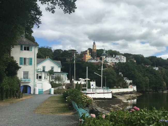Portmeirion-Wales-View-of-village
