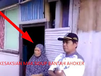 VIDEO: Ini Klarifikasi Langsung Mak Sidup Disaksikan Pak Lurah Membungkam FITNAH AHOKER