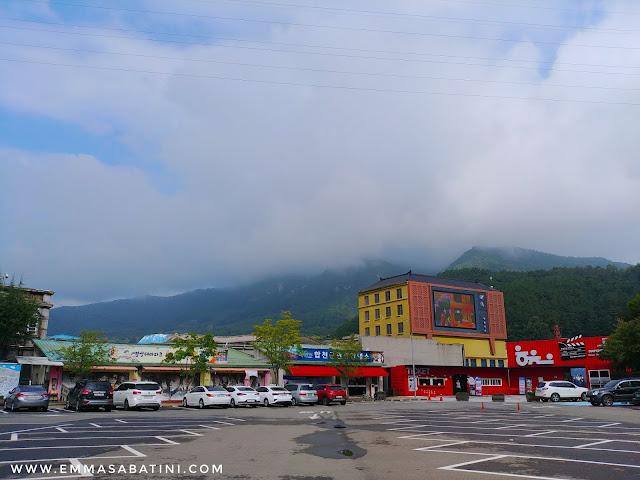 Hapcheon Movie Theme Park Parking Lot