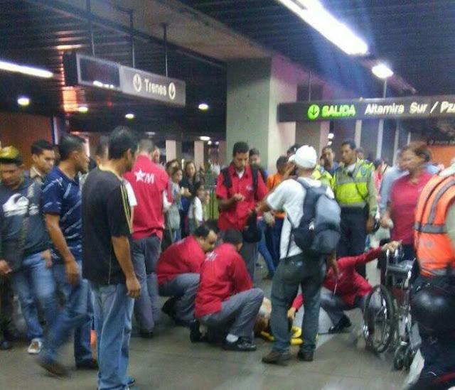 Tiroteo dentro del Metro de Altamira dejó un herido