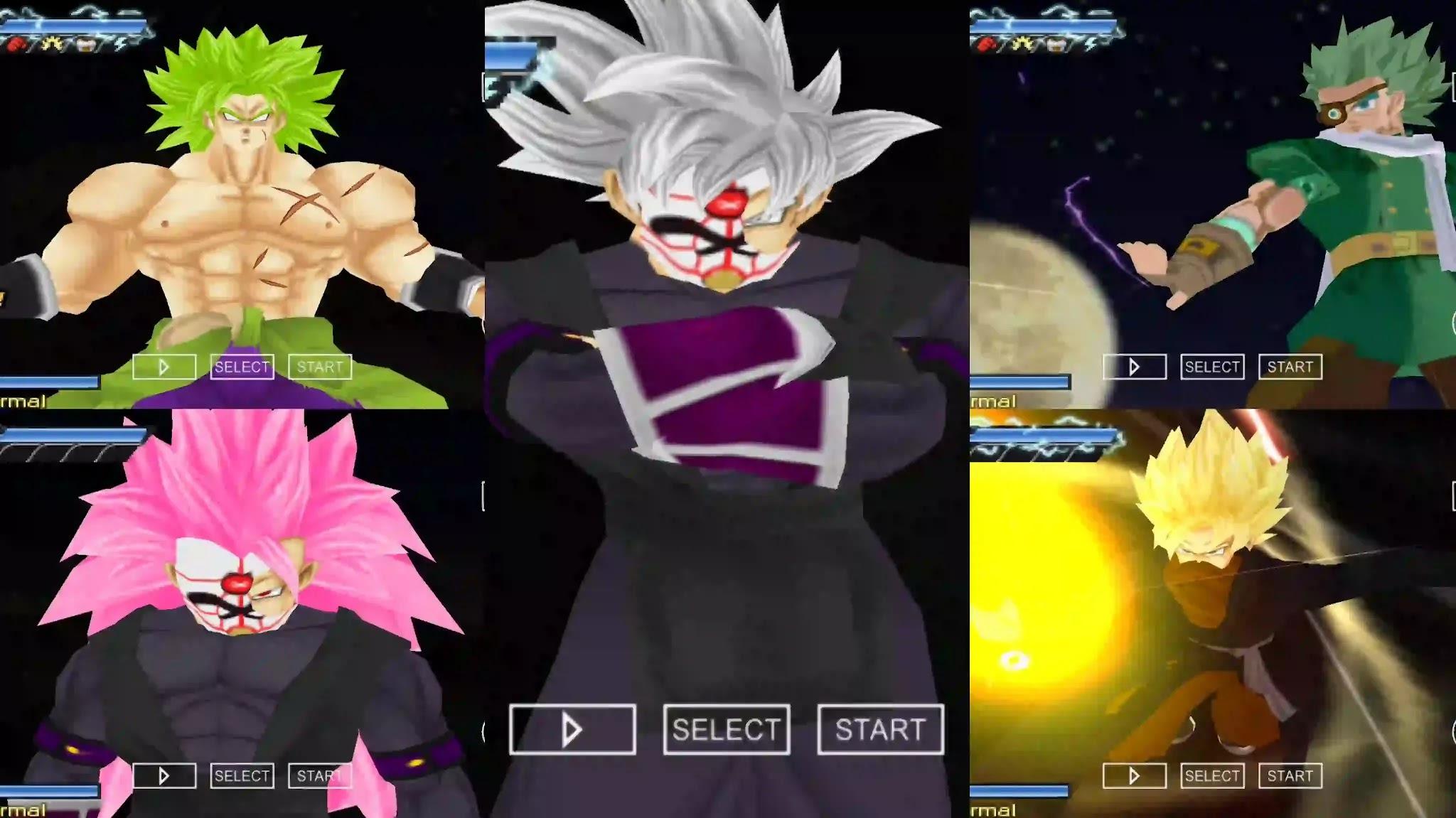 Super Dragon Ball Heroes PPSSPP ISO DBZ TTT MOD
