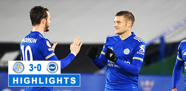 Leicester City vs Brighton & Hove Albion – Highlights