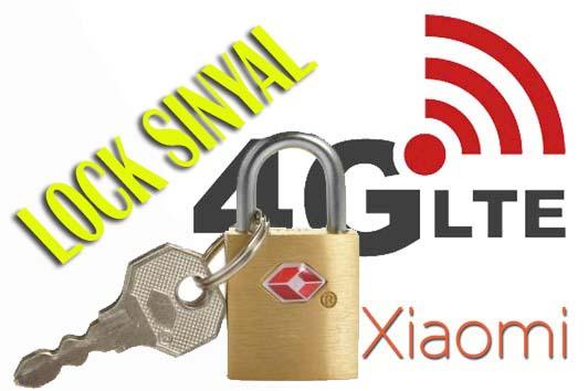Cara Lock Sinyal (Kunci Jaringan) 4G Lte Only Hp Android Xiaomi