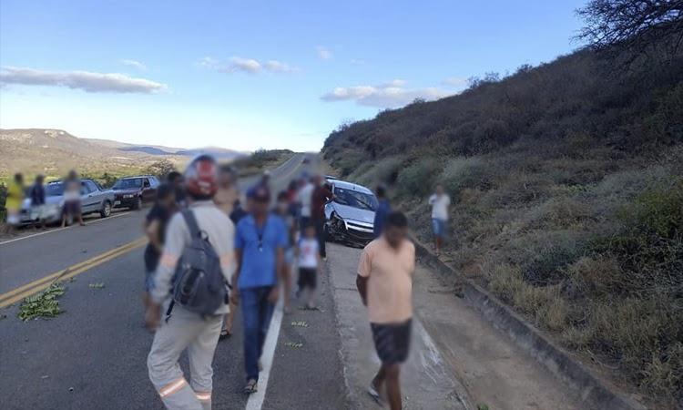 Homem fica ferido após acidente na Chapada Diamantina