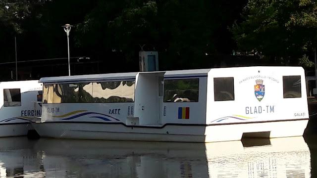 FOTO: Când vom putea circula cu vaporasele pe Bega la Timisoara!