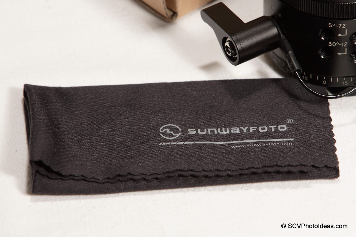 Sunwayfoto Microfiber Cleaning Cloth