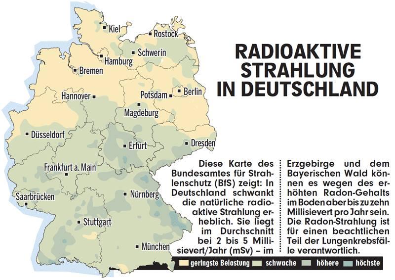 Radon Karte Deutschland.Radioactive Contaminated Wild Boars Pigs Sheep And Deer Too