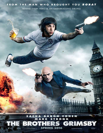 The Brothers Grimsby 2016 English 300MB BRRip 720p ESubs HEVC