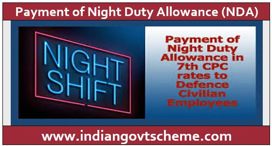Night Duty Allowance
