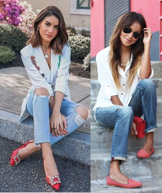 12 Looks inspiração com calça jeans, Camila Coelho, Julie Sarinana