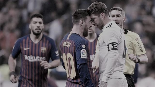 كلاسيكو الأرض.. برشلونة وريال مدريد يتصارعان من أجل لقب الليجا
