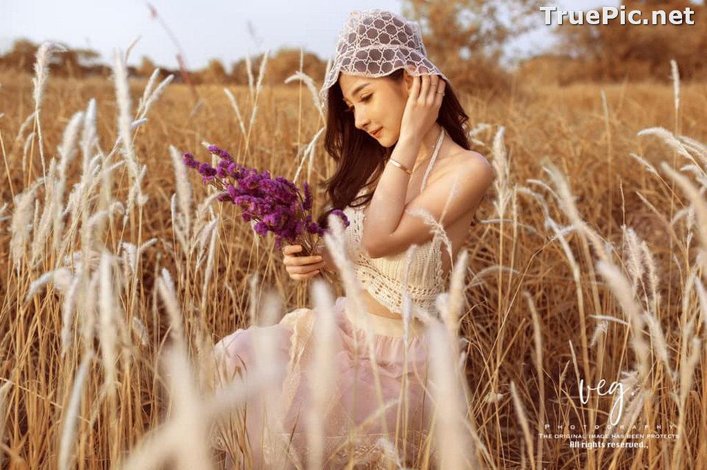 Image Thailand Model - Pattamaporn Keawkum - Imperata Spontanea Field - TruePic.net - Picture-9