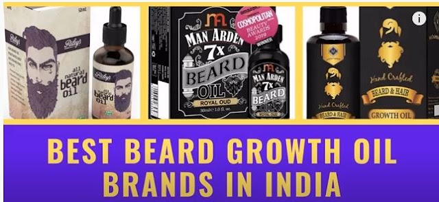Best Beard growth Oil brand in India for men with Price buy online at amazon