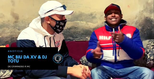 Dificuldades na vida do Funk | MC Biu da XV, De criminoso à MC | DJ TOTU