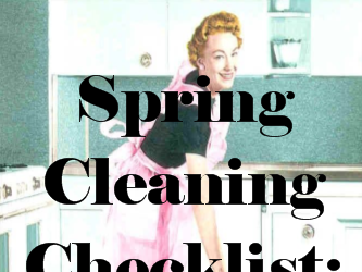Spring Cleaning Checklist: The Kitchen (with a free printable!)
