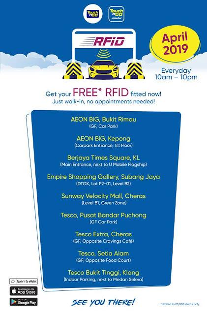 RFID Percuma