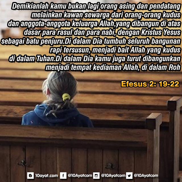 Efesus 2: 19-22