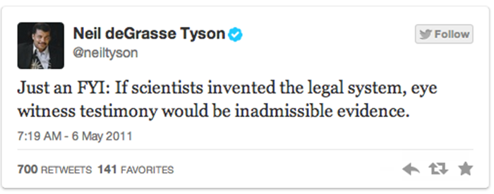 funny tweets by Neil DeGrasse Tyson