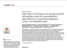 hemoglobina glicosilada valores pre diabetes definición
