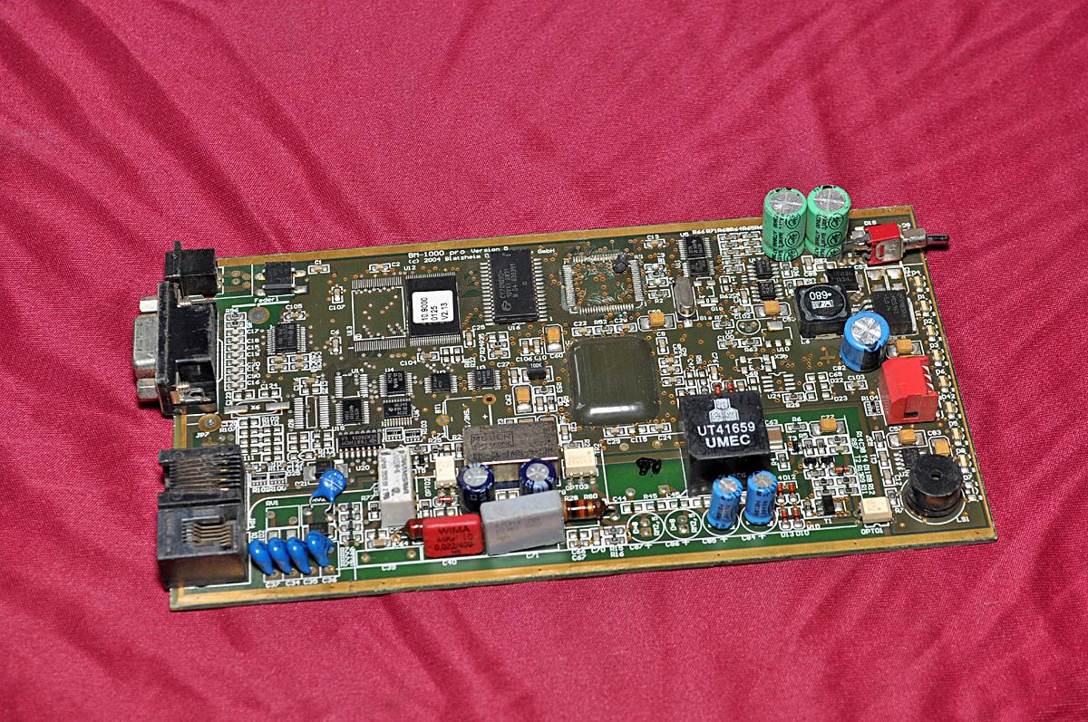 Bm 1000 Pro Pcb Circuit Aeliya Marine Tech Pvt Ltd Powertronix Inductor