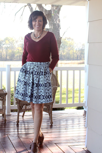 Simplicity 8176 in cotton sateen
