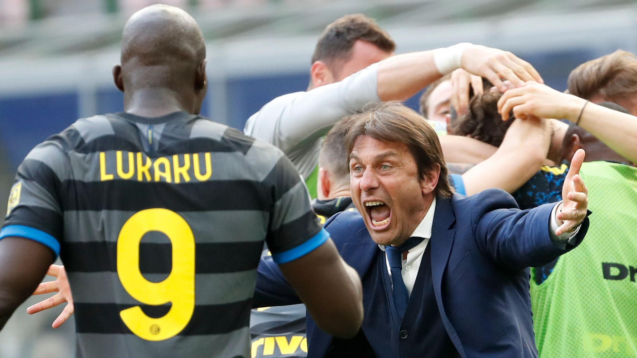 Newly-crowned Serie A champions Inter Milan play host to Sampdoria on Saturday