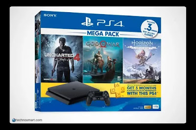 sony ps4 slim and ps4 pro consoles
