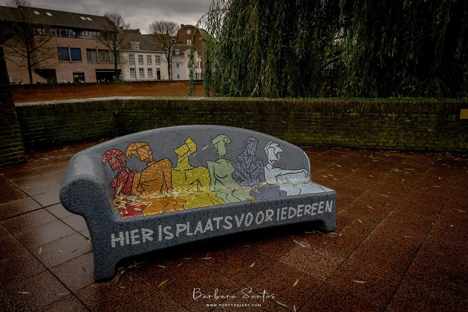 Beautiful Bench, Den Bosch. A weekend in Den Bosch, the Netherlands. A trip diary of how to spend a weekend in this Dutch city.