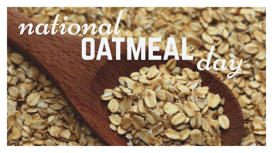 National Oatmeal Day Wishes Images download