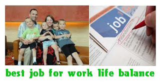 best job for work life balance