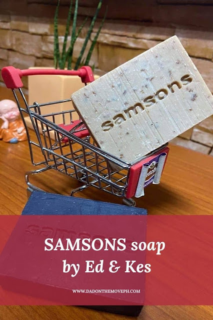 SAMSONS face and body soap by Ed and Kes