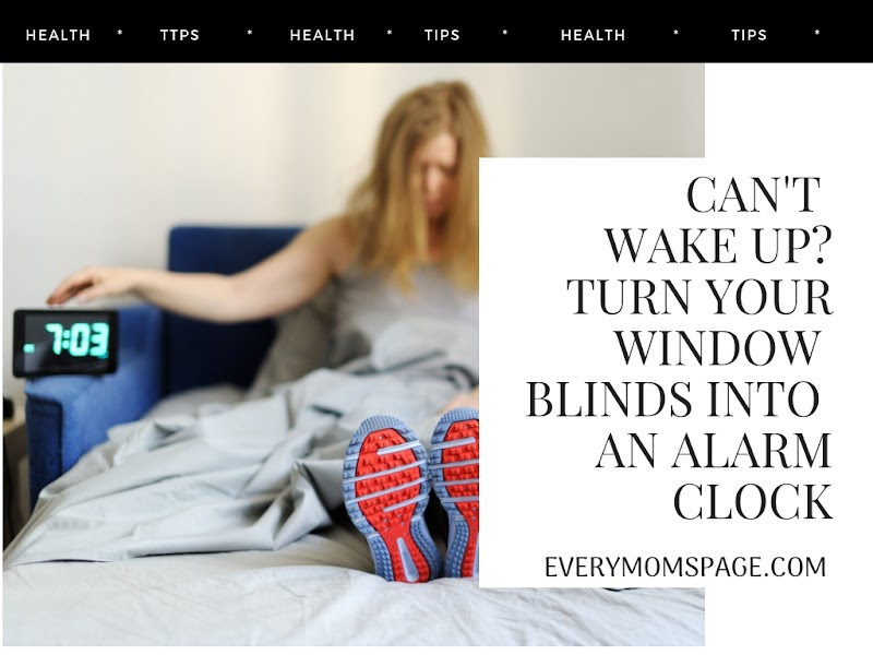 Can't Wake up? Turn your Window Blinds into an Alarm Clock