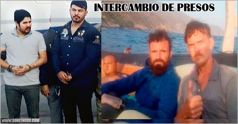 Régimen de Maduro analiza intercambiar a los norteamericanos por los narcosobrinos