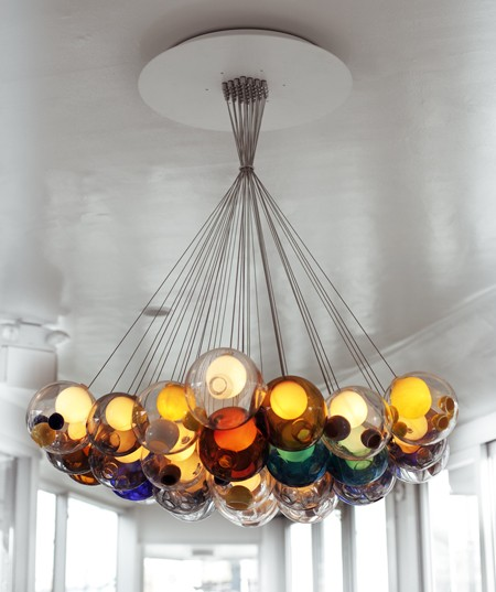 For The Home Cluster Chandelier