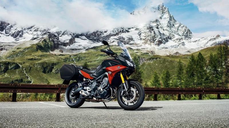Yamaha Tracer 900 GT thêm màu sắc, giá không đổi