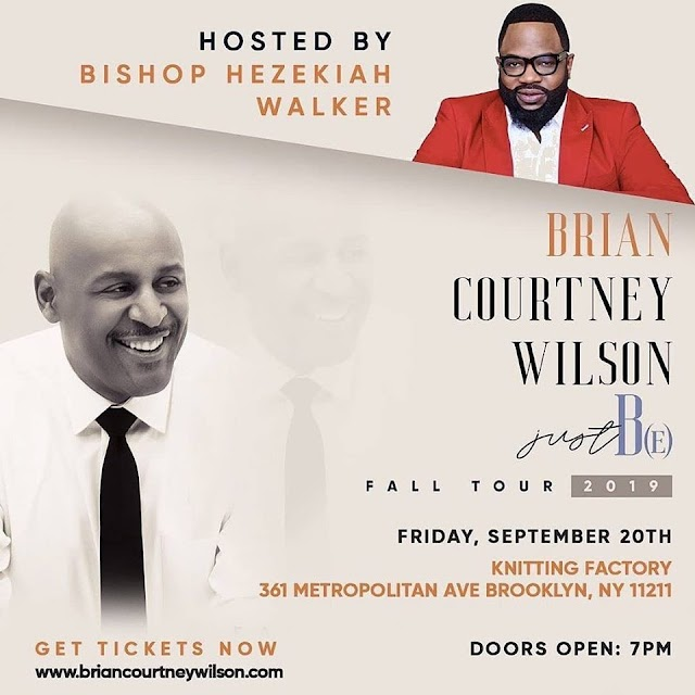 [Event] Brain Courtney Wilson - Just BE Fall Tour 2019
