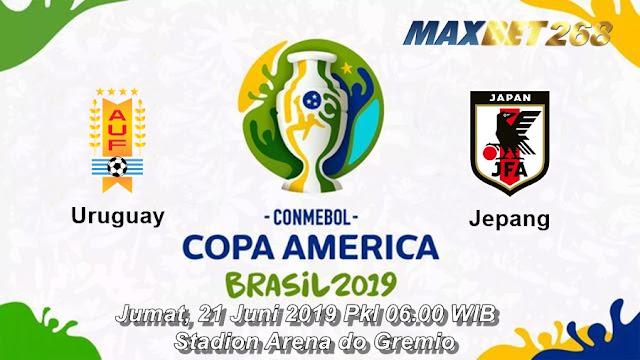 Prediksi Uruguay Vs Jepang, Jumat 21 Juni 2019 Pukul 06.00 WIB
