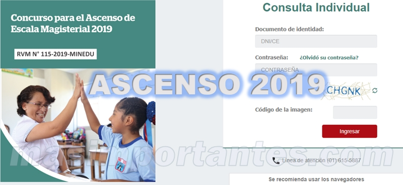verificacion de requisitos ascenso de escala 2019 resultados preliminares