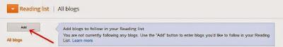 cara menambahkan daftar bacaan blog
