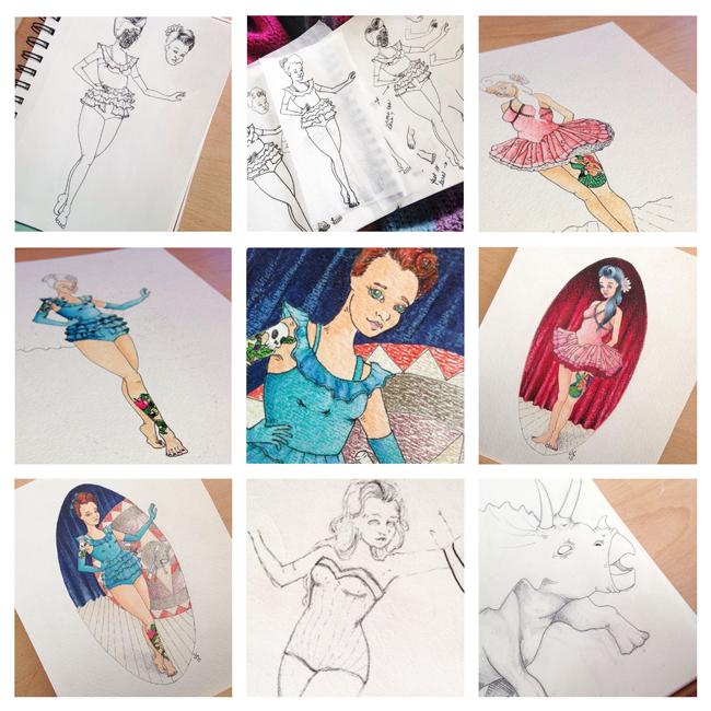 Sketchbook Round-Up: Volume 17 | Yeti Crafts