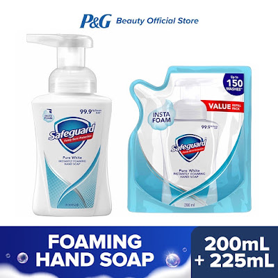 Safeguard Pure White Foaming Hand Soap