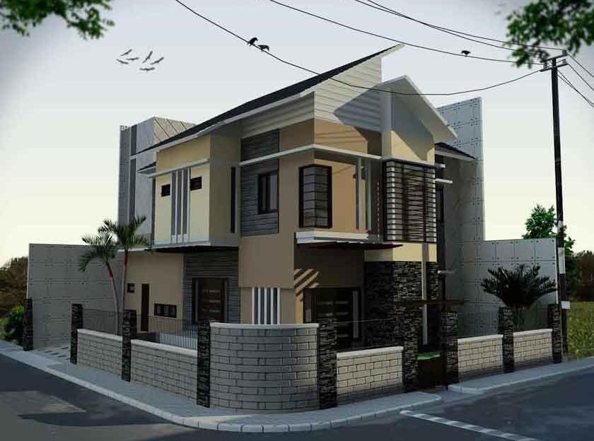 Desain Rumah Minimalis Tampak Depan Samping Belakang