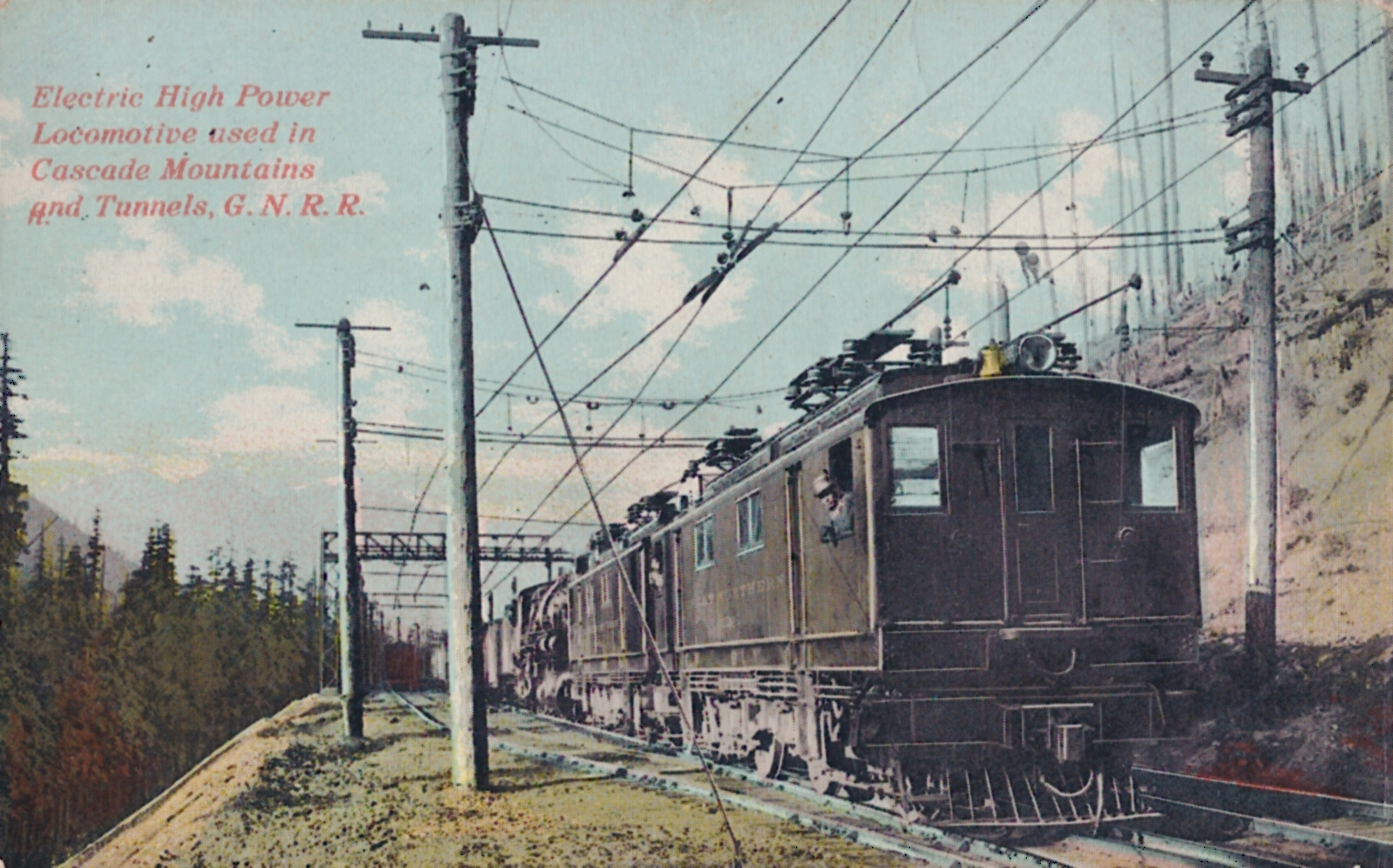 Gn Rocky 39 S Great Northern Railway Blog The First Electric